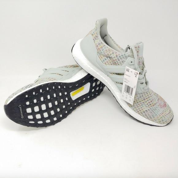 adidas UltraBoost 4.0 Grey Multi-color NIB Running